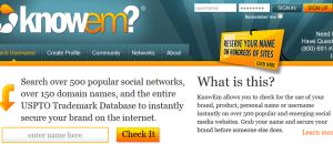 Namensfindung im Internet – Klick für Klick erklärt