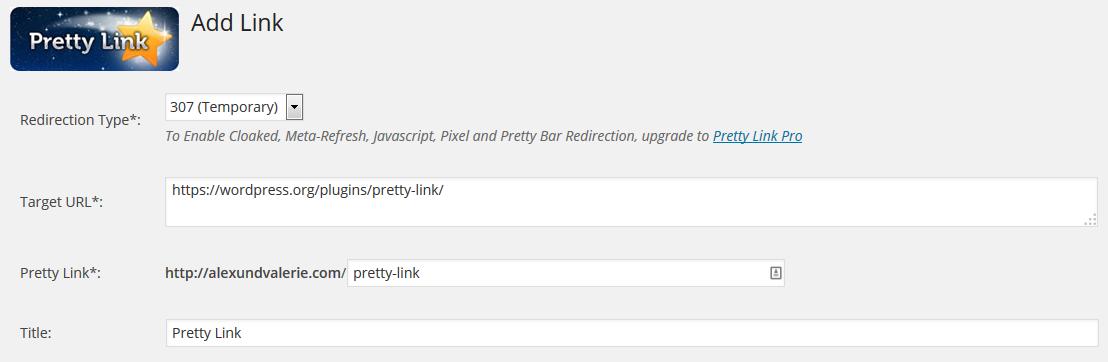 Pretty Link PlugIns
