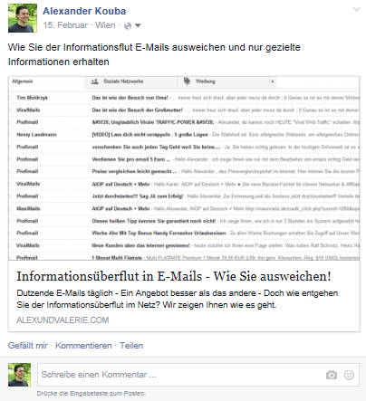 Facebook-Strategie